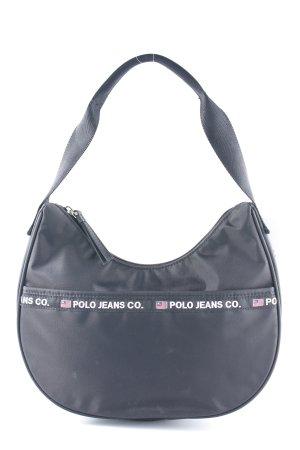 Polo Jeans Henkeltasche schwarz sportlicher Stil