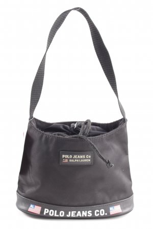 Polo Jeans Minibolso negro look casual