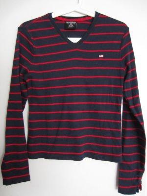 Polo Jeans Ralph Lauren Shirt S rot blau geringelt
