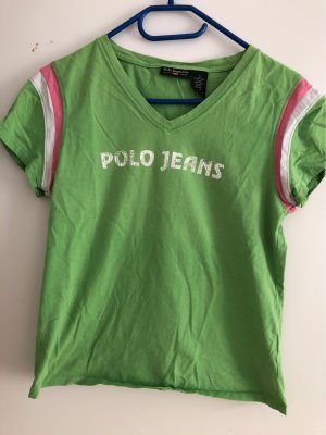 Polo Jeans Co. Ralph Lauren V-Neck Shirt multicolored