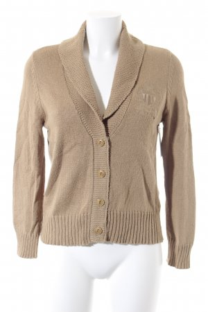 Polo Jeans Strick Cardigan camel-creme Casual-Look