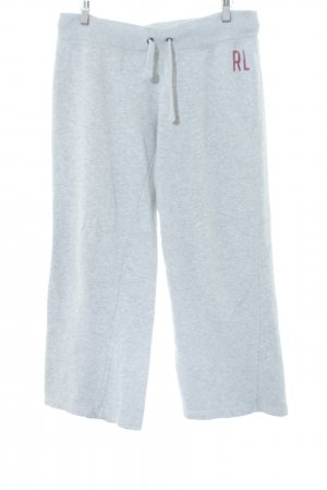 Polo Jeans Sweat Pants light grey flecked casual look