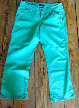 Ralph Lauren Polo Jeans 7/8-broek lichtgroen-turkoois Katoen