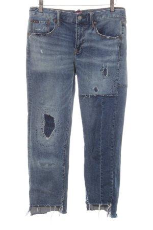 Polo Ralph Lauren Jeans a 7/8 blu acciaio stile casual