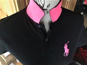Polo Ralph Lauren Polo nero-rosa Cotone