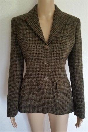 Polo Ralph Lauren Blazer en laine vert foncé-bordeau laine