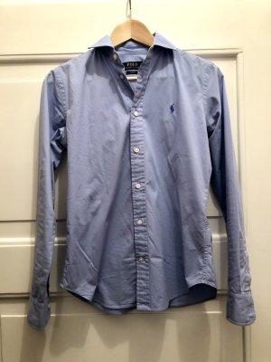 Polo Ralph Lauren Bluse Hemd hellblau Slim Fit