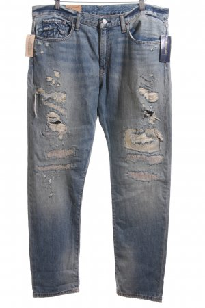 Polo Ralph Lauren Boyfriend Trousers blue casual look