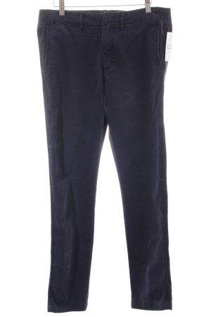 Polo Ralph Lauren Chinohose dunkelblau Batikmuster Casual-Look