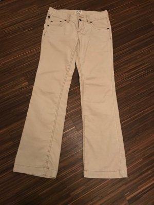 Lauren Jeans Co. Ralph Lauren Pantalon en velours côtelé beige clair