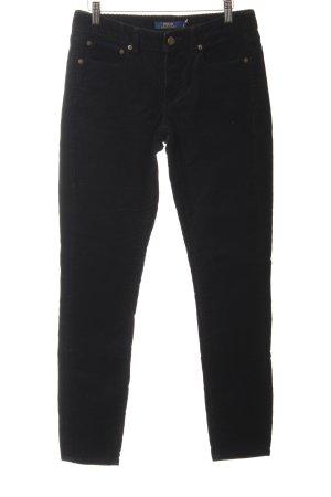 Polo Ralph Lauren Corduroy Trousers black casual look