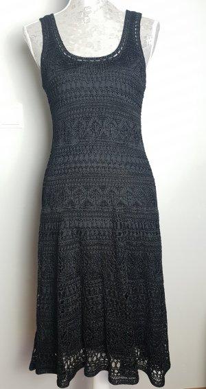 Polo Ralph Lauren Crochet Kleid schwarz