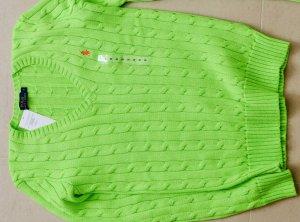 Polo Ralph Lauren Damen Pullover Gr S 36 Grün Neu Etikett