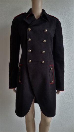 Polo Ralph Lauren, Double-Breasted Admiral Coat, schwarz, 36 (US 6), neu, € 895,-