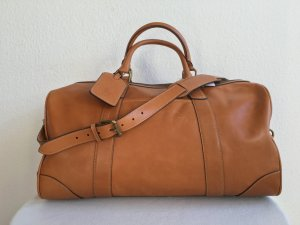 Polo Ralph Lauren Weekender Bag cognac-coloured leather