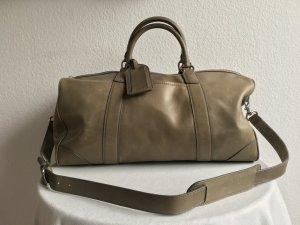 Polo Ralph Lauren Weekender Bag grey leather