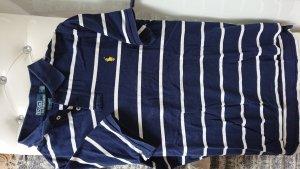 Polo Ralph Lauren dunkelblau mit weißen Streifen