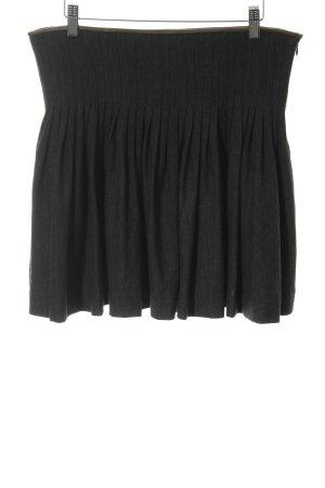 Polo Ralph Lauren Plooirok antraciet-zwart bruin elegant