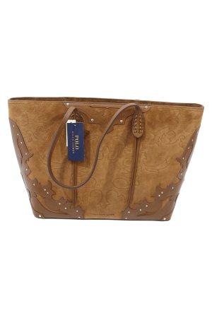 Polo Ralph Lauren Handtasche in Braun
