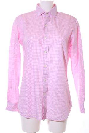 Polo Ralph Lauren Hemd-Bluse pink Karomuster Business-Look