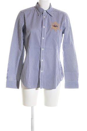 Polo Ralph Lauren Hemd-Bluse blau-weiß Streifenmuster Business-Look