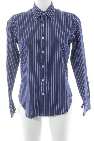 Polo Ralph Lauren Shirt Blouse dark blue-white striped pattern casual look