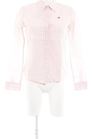 Polo Ralph Lauren Hemd-Bluse rosé-weiß Streifenmuster Casual-Look