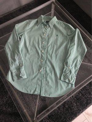 POLO Ralph Lauren Hemd Größe 8 Grün gestreift