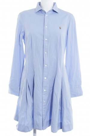 Polo Ralph Lauren Hemdblusenkleid himmelblau Casual-Look