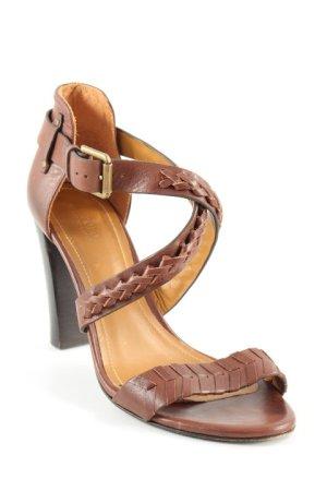 Polo Ralph Lauren High Heel Sandaletten braun Elegant