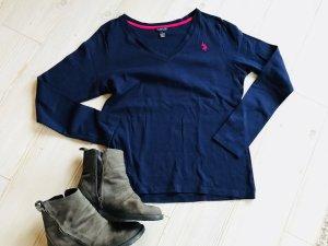 Polo Ralph Lauren Hoody dklblau und pink Gr.XL