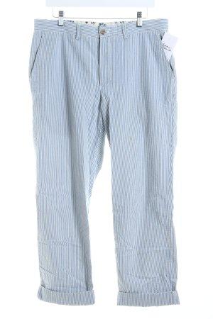 Polo Ralph Lauren Hose himmelblau-weiß Streifenmuster Casual-Look