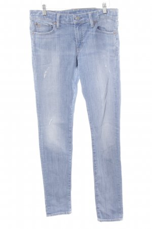 Polo Ralph Lauren Hüftjeans hellblau-graublau Jeans-Optik
