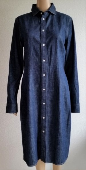 Polo Ralph Lauren, Jeanskleid, blau, Baumwolle, 42 (US 12), neu