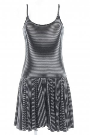 Polo Ralph Lauren Jerseykleid schwarz-wollweiß Streifenmuster Casual-Look