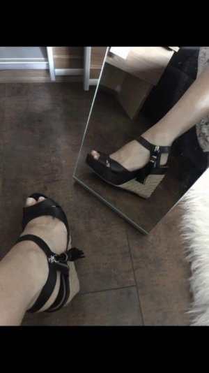 Polo Ralph Lauren Keilabsatz Schuhe Wedges High Heels 38