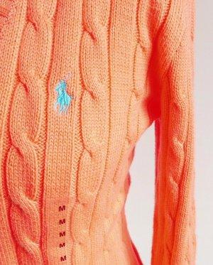 POLO RALPH LAUREN KIMBERLY PP Damen Pullover Gr M 38 orange