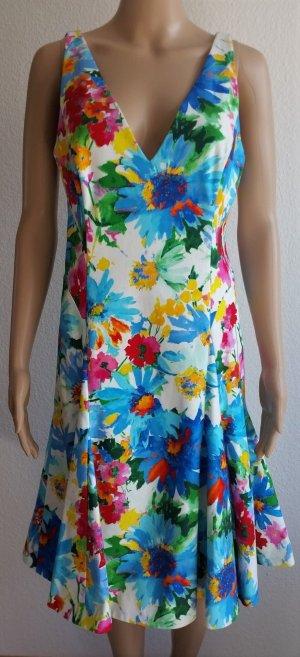 Polo Ralph Lauren, Kleid, floral, Baumwolle/Elasthan, 38 (US 8), neu, € 350,