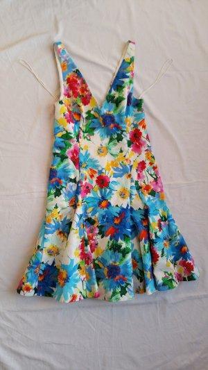 Polo Ralph Lauren, Kleid, floral, Baumwolle/Elasthan, 38 (US 8), neu, € 350, -