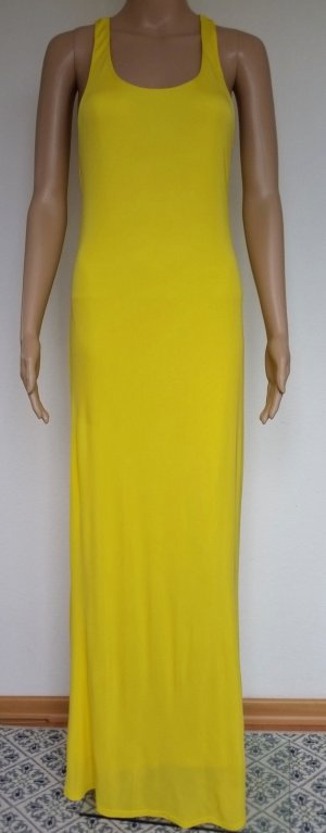 Polo Ralph Lauren, Kleid gelb, M, Viskose, neu, € 350,-