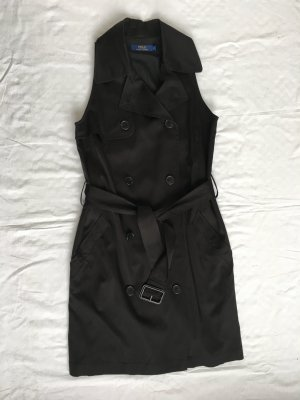 Polo Ralph Lauren, Kleid/Weste, schwarz, Gr. 32 (US 2), Cupro/Nylon/Elasthan, neu