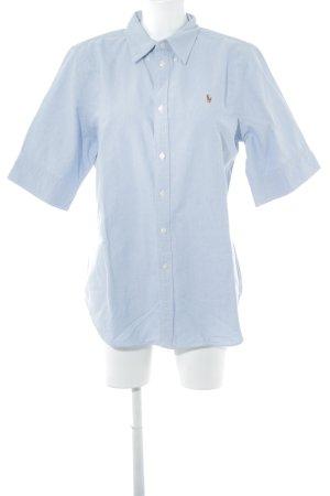 Polo Ralph Lauren Shirt met korte mouwen lichtblauw Jeans-look