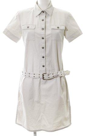 Polo Ralph Lauren Kurzarmkleid wollweiß Casual-Look