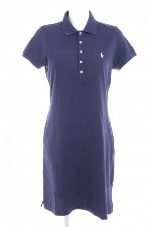 Polo Ralph Lauren Kurzarmkleid dunkelblau Casual-Look