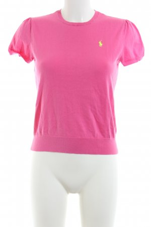 Polo Ralph Lauren Kurzarmpullover pink Casual-Look