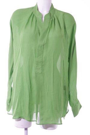 Polo Ralph Lauren Langarm-Bluse neongrün Casual-Look