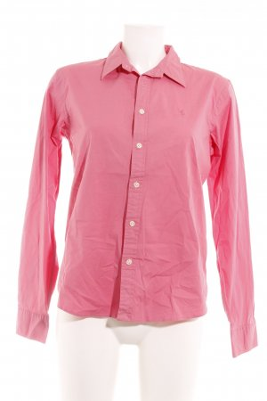 Polo Ralph Lauren Langarm-Bluse rosa Business-Look