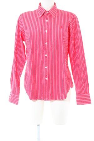 Polo Ralph Lauren Langarmhemd pink-weiß Streifenmuster Business-Look