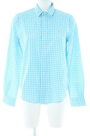 Polo Ralph Lauren Langarmhemd blau-weiß Karomuster Business-Look