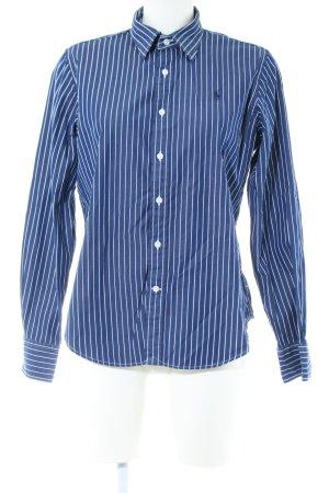 Polo Ralph Lauren Langarmhemd blau-weiß Streifenmuster Business-Look
